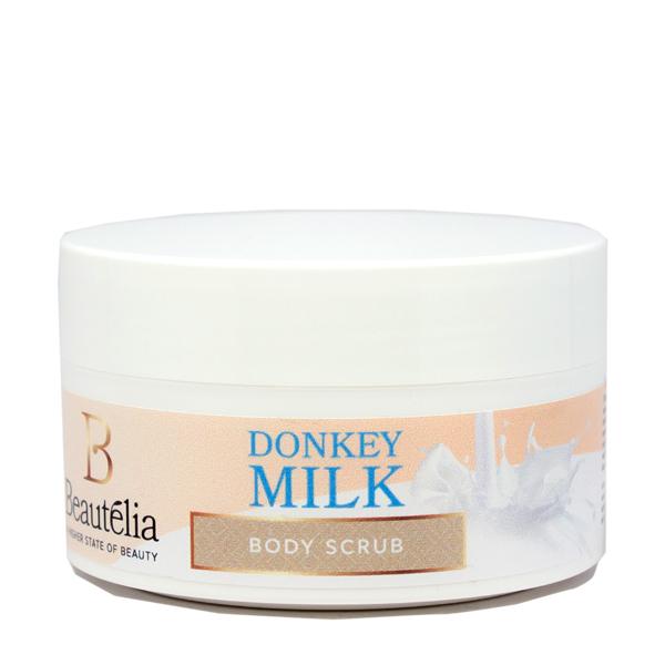 012 donkey milk body scrub white